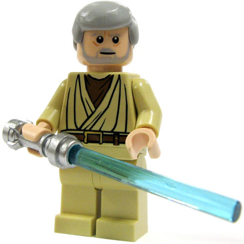 LEGO Star Wars A New Hope Loose Obi-Wan Kenobi Minifigure [Tatooine Loose]