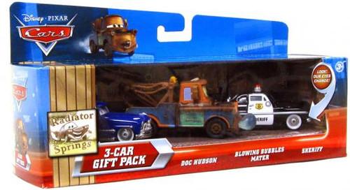 Disney Cars Multi-Packs Radiator Springs 3-Car Gift Pack Diecast Car Set [Doc Hudson]