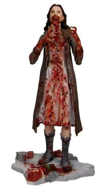 30 Days of Night Series 1 Build Lillith Feeding Frenzy Iris Exclusive Action Figure [Damaged Package]
