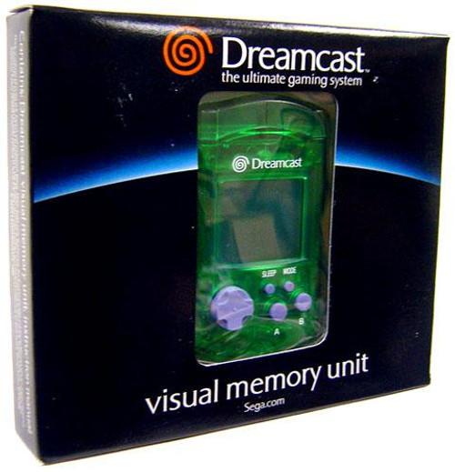 Sega Dreamcast Visual Memory Unit [Green]