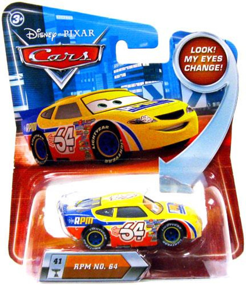 Disney Cars Lenticular Eyes Series 2 RPM No. 64 Diecast Car