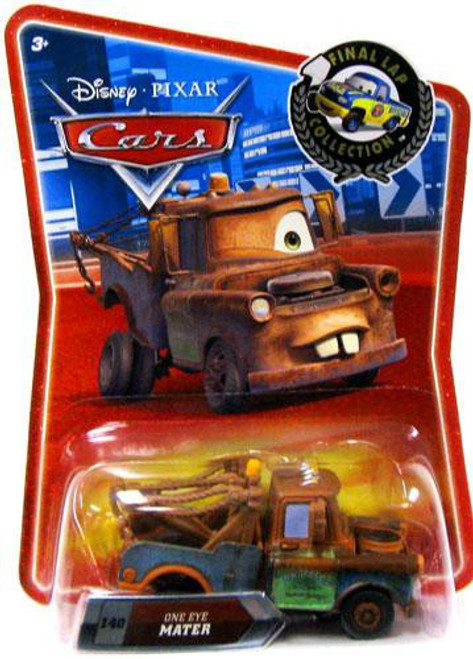 Disney Cars Final Lap Collection One Eye Mater Exclusive Diecast Car