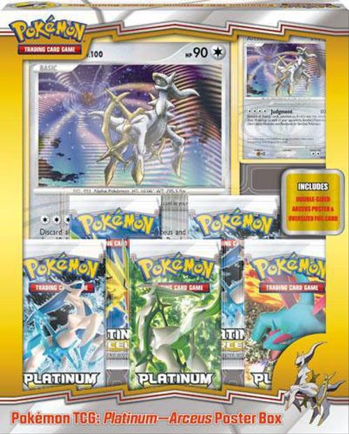 Pokemon Arceus Poster Box Special Edition