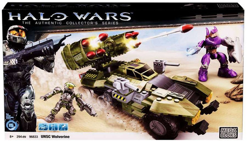 Mega Bloks Halo The Authentic Collector's Series UNSC Wolverine Set #96833