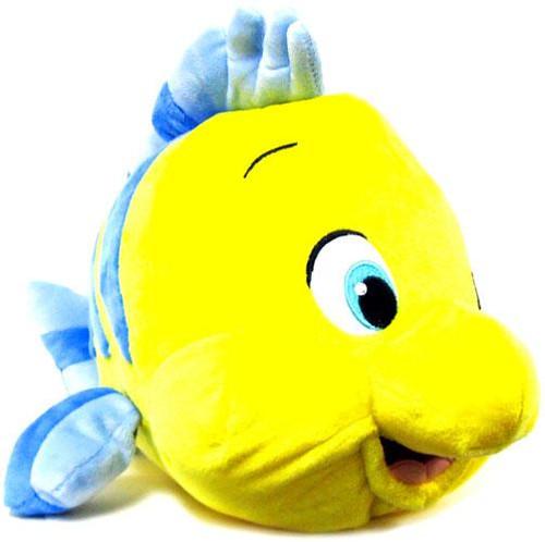 Disney The Little Mermaid Flounder Exclusive 12-Inch Plush