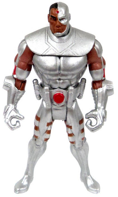 DC Infinite Heroes Mallah's Revenge Cyborg Action Figure [Loose]