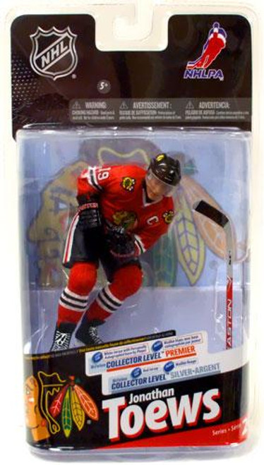 McFarlane Toys NHL Chicago Blackhawks Sports Picks Series 24 Jonathan Toews Action Figure [Red Jersey]