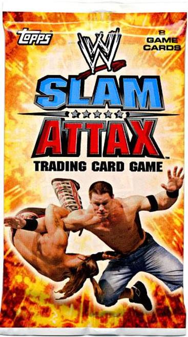 WWE Wrestling Slam Attax Evolution Series 1 Booster Pack