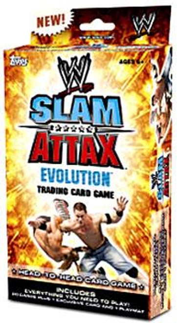 WWE Wrestling Slam Attax Evolution Series 1 Exclusive Starter Deck