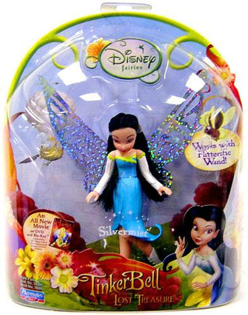 Disney Fairies Tinker Bell & The Lost Treasure Silvermist 3.5-Inch Figure
