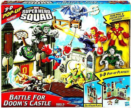 Marvel Super Hero Squad Battle For Doom's Castle