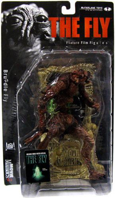 McFarlane Toys The Fly Movie Maniacs Series 3 Brundle Fly Action Figure
