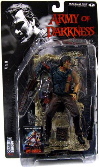 McFarlane Toys Evil Dead Army of Darkness Movie Maniacs Series 3 Ash Action Figure
