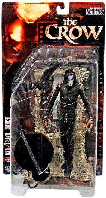 McFarlane Toys The Crow Movie Maniacs Series 2 Eric Draven Action Figure
