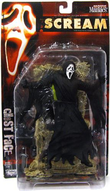 McFarlane Toys Scream Movie Maniacs Series 2 Ghost Face Action Figure