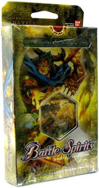 Battle Spirits Trading Card Game Scars of Battle Sorcerer's Blaze Deck