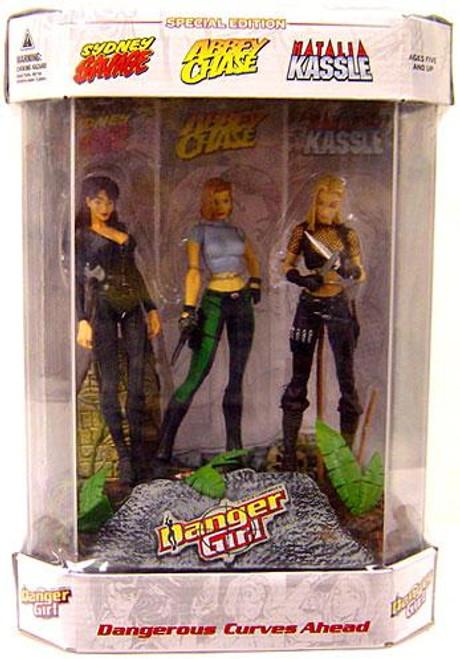 McFarlane Toys Danger Girl Dangerous Curves Ahead Special Edition Action Figure Set