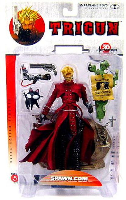 McFarlane Toys Anime Trigun 3D Animation From Japan Series 1 Vash the Stampede Action Figure