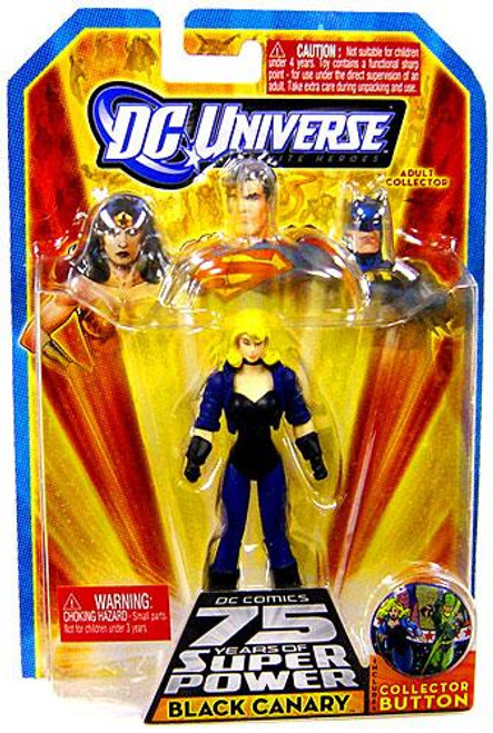 DC Universe 75 Years of Super Power Infinite Heroes Black Canary Action Figure