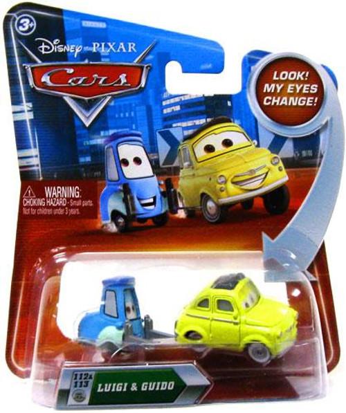 Disney Cars Lenticular Eyes Series 2 Luigi & Guido Diecast Car