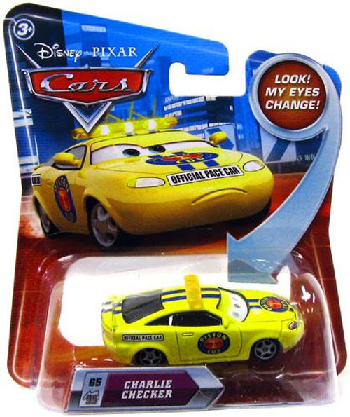 Disney Cars Lenticular Eyes Series 2 Charlie Checker Diecast Car