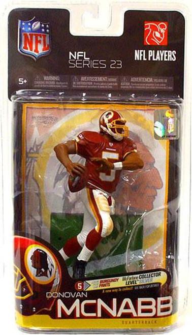 McFarlane Toys NFL Washington Redskins Sports Picks Series 23 Donovan McNabb Action Figure [White Pants]