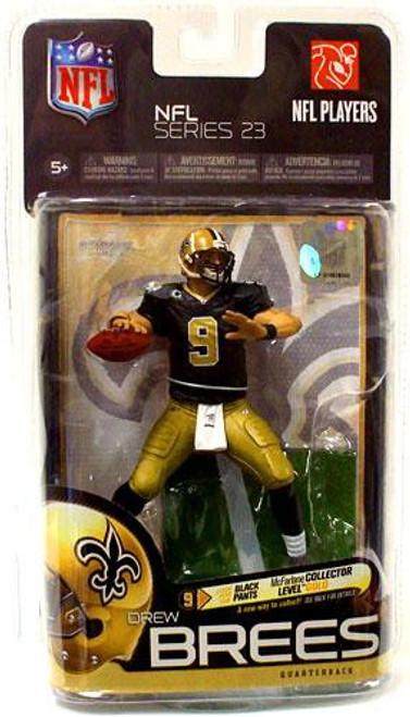 McFarlane Toys NFL New Orleans Saints Sports Picks Series 23 Drew Brees Action Figure [Gold Pants]