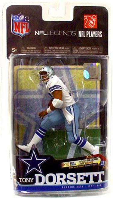 McFarlane Toys NFL Dallas Cowboys Sports Picks Legends Series 6 Tony Dorsett Action Figure [White Jersey]