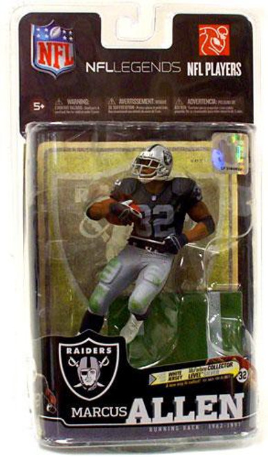McFarlane Toys NFL Los Angeles Raiders Sports Picks Legends Series 6 Marcus Allen Action Figure [Black Jersey]