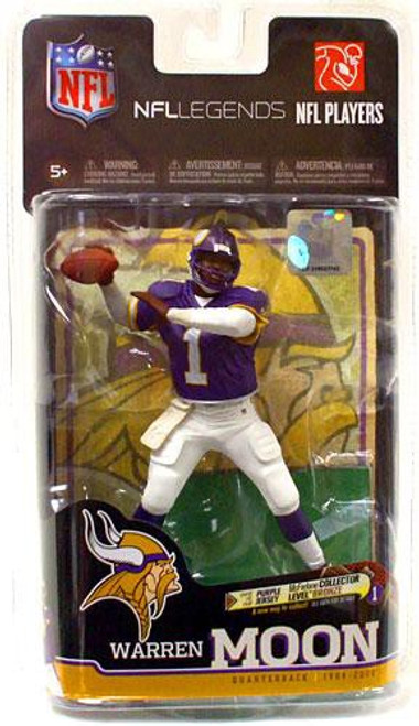 McFarlane Toys NFL Minnesota Vikings Sports Picks Legends Series 6 Warren Moon Action Figure [Purple Jersey]