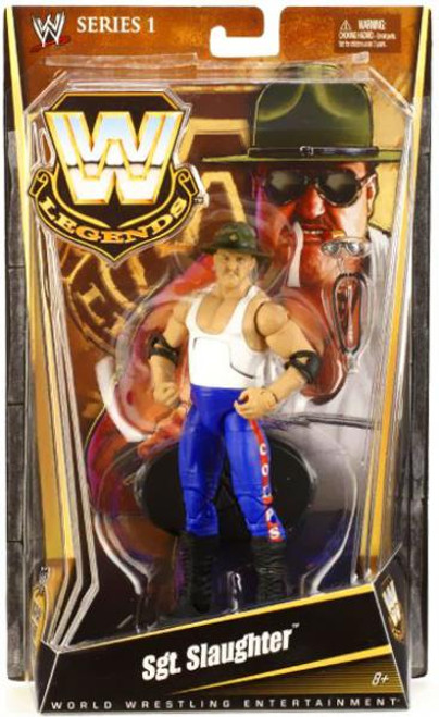 WWE Wrestling Legends Series 1 Sgt Slaughter Action Figure