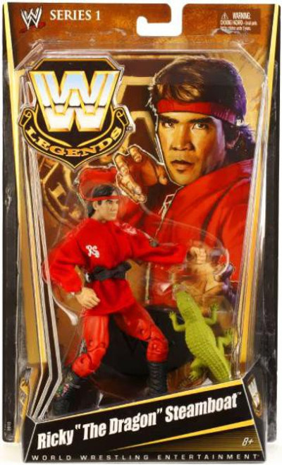 "WWE Wrestling Legends Series 1 Ricky ""The Dragon"" Steamboat Action Figure"