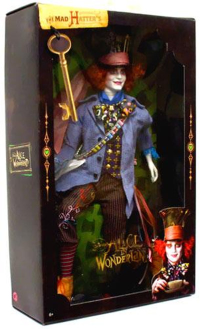 Alice in Wonderland Mad Hatter Barbie Doll [Johnny Depp]