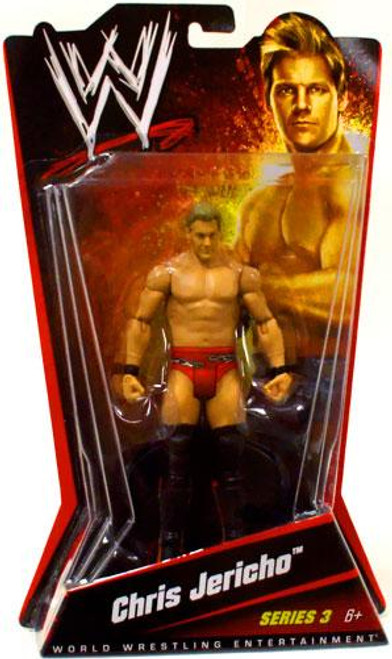 WWE Wrestling Series 3 Chris Jericho Action Figure