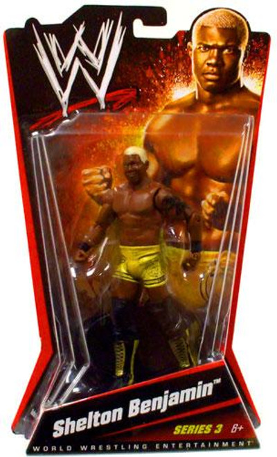 WWE Wrestling Series 3 Shelton Benjamin Action Figure