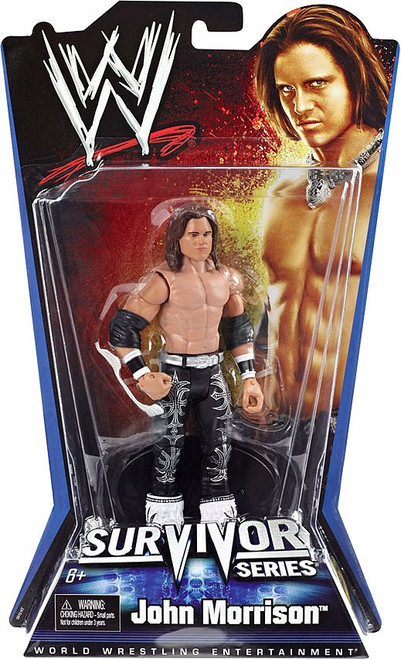 WWE Wrestling Pay Per View Series 1 Survivor Series John Morrison Action Figure
