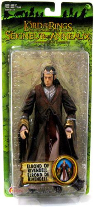 The Lord of the Rings The Fellowship of the Ring Series 3 Elrond of Rivendell Action Figure