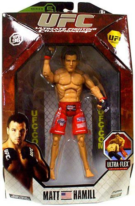 UFC Collection Series 5 Matt Hamill Action Figure [UFC 96]