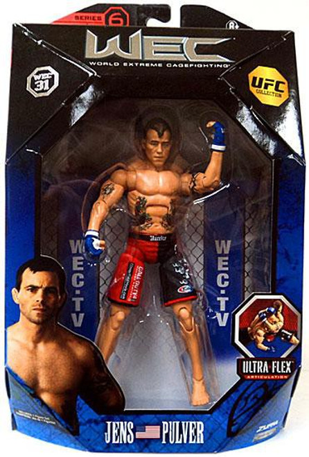 UFC Collection Series 6 Jens Pulver Action Figure [WEC 31]