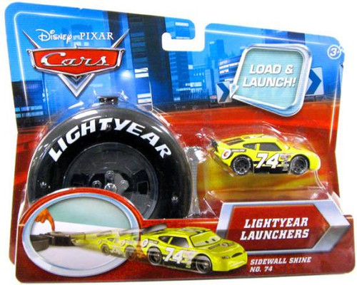 Disney Cars Lightyear Launchers Sidewall Shine No. 74 Diecast Car