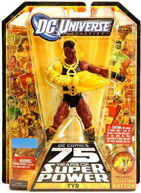 DC Universe 75 Years of Super Power Classics Tyr Exclusive Action Figure