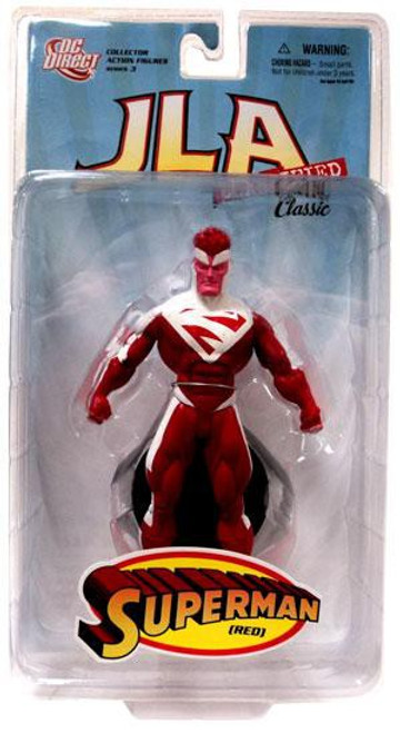 DC JLA Classified Classic Series 3 Superman Action Figure [Red]