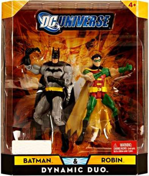 DC Universe Batman & Robin Exclusive Action Figures