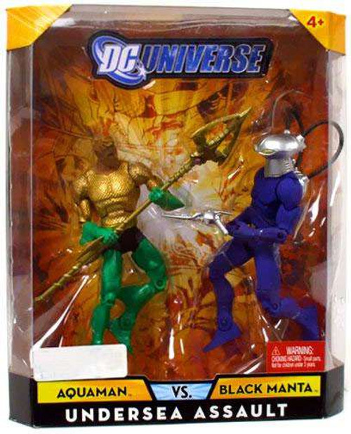 DC Universe Aquaman Vs Black Manta Exclusive Action Figures