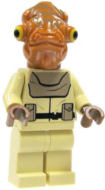 LEGO Star Wars Loose Mon Calimari Officer Minifigure [Loose]