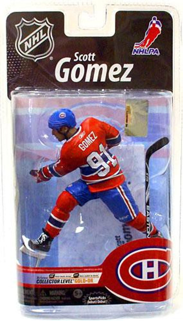 McFarlane Toys NHL Montreal Canadiens Sports Picks Series 25 Scott Gomez Exclusive Action Figure [Exclusive]