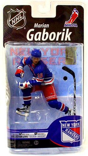 McFarlane Toys NHL New York Rangers Sports Picks Series 25 Marian Gaborik Exclusive Action Figure [Blue Jersey]