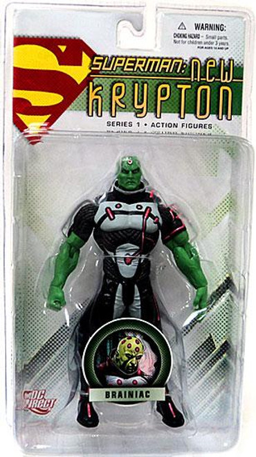 DC Superman New Krypton Series 1 Brainiac Action Figure