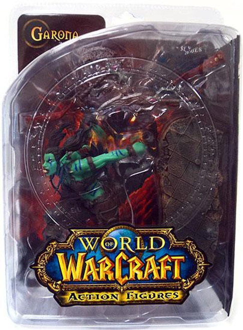 World of Warcraft Series 7 Garona Halforcen Action Figure [Orc Rogue]