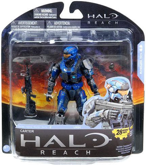 McFarlane Toys Halo Reach Series 2 Carter Action Figure